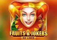 Fruits & Jokers - 40 Lines